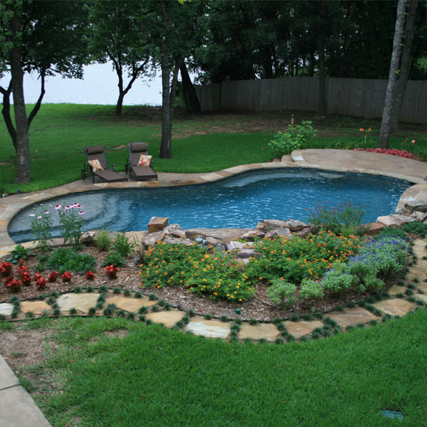 new pool from Gohlke Pools
